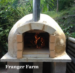 The Franger Farm pizza oven