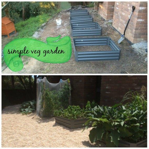 simple veg garden