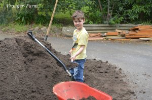 Time to shovel dirt!
